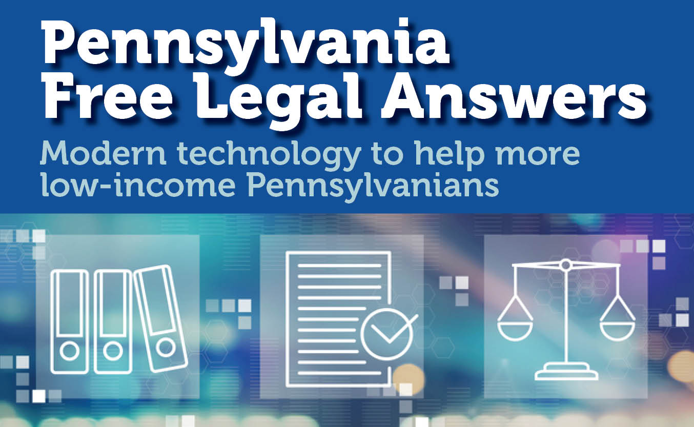 PA Free Legal Answers graphic